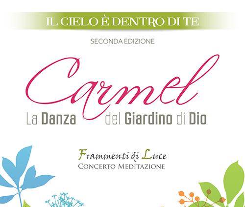 Copertina Carmel...la danza del giardino di Dio