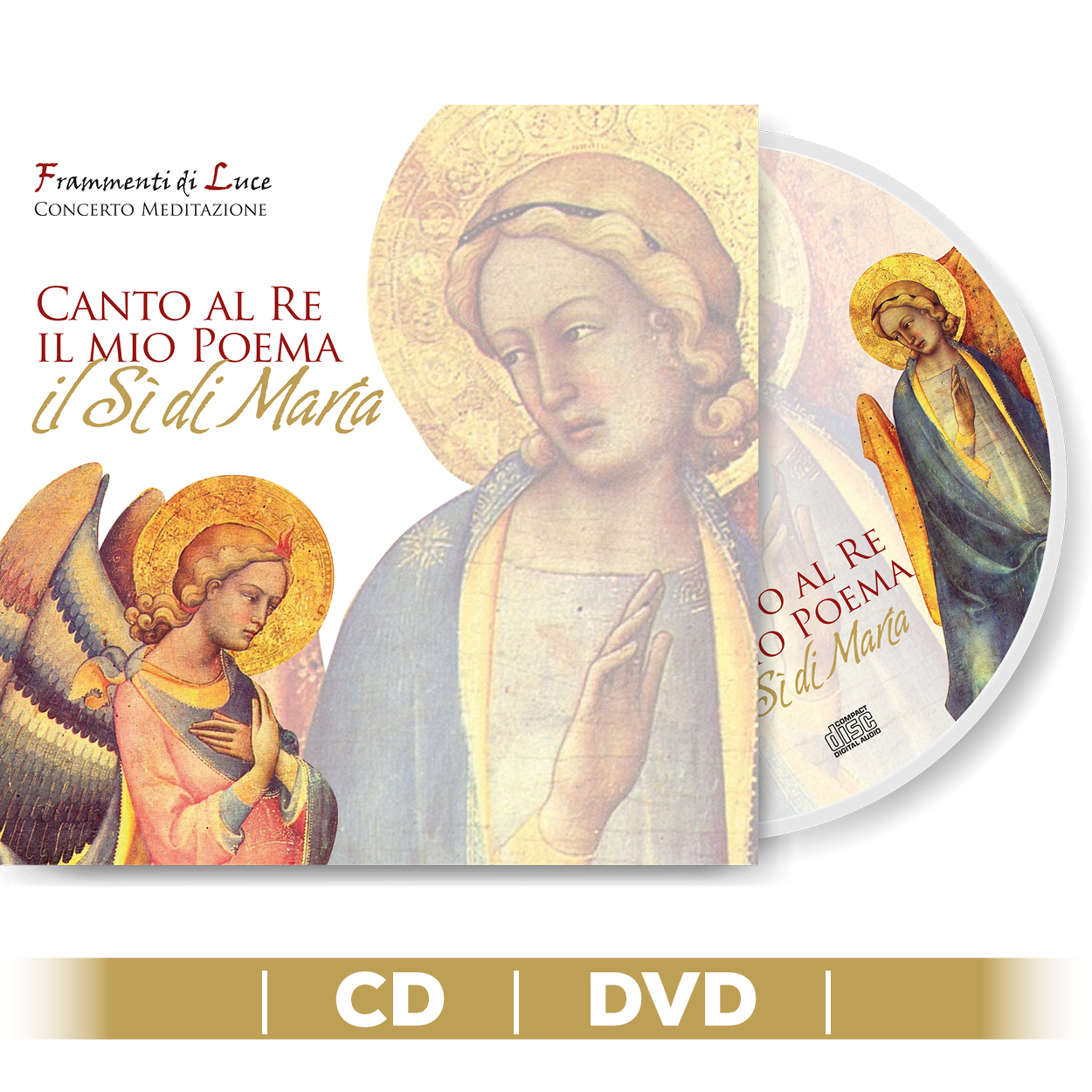 DVD - Canto al re il mio poema
